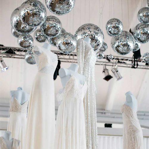 Deco disco ballen set voor huwelijk of feest