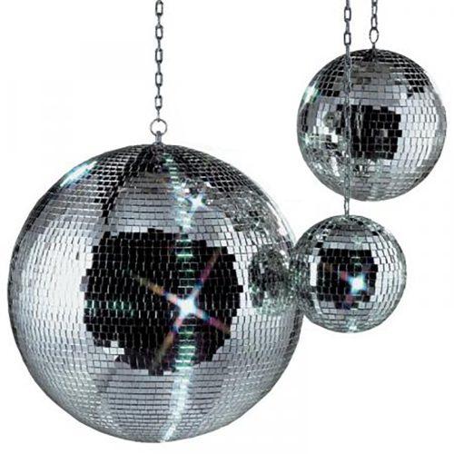 Disco ballen voor feest, 20 cm, 30 cm en 50 cm