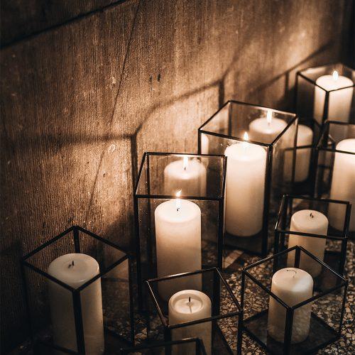 Black lantaarns voor jouw de ultieme sfeer tijdens jouw bruiloft, event, diner of feest! , Verkrijgbaar in set van 3.